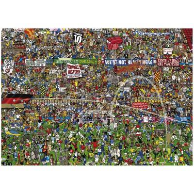 Puzzle  Heye-29205 Alex Bennett: Football History