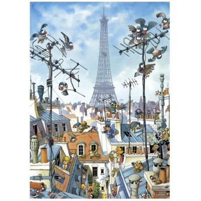Puzzle  Heye-29358 Loup: Eiffelturm