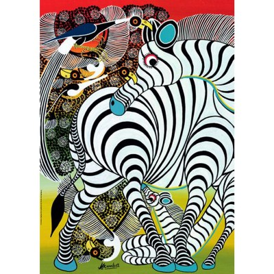 Puzzle  Heye-29425 Tinga Tinga: Zebra