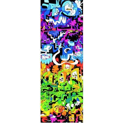 Heye-29456 Puzzle 1000 Teile vertikal - Burgerman: Gekritzel