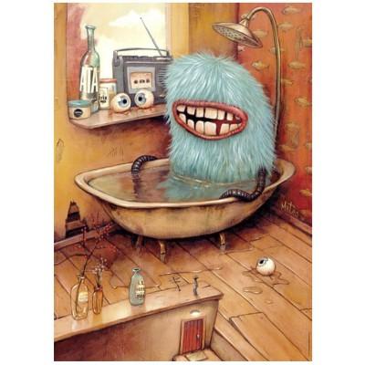 Puzzle Heye-29539 Mateo Dineen: Bathtub