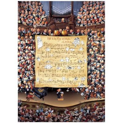 Puzzle Heye-29564 Jean-Jaques Loup: Score
