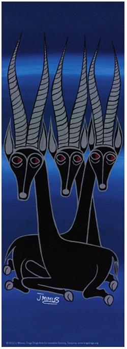 Puzzle Heye-29581 J. Mimus: Tinga Tinga, Antilopes