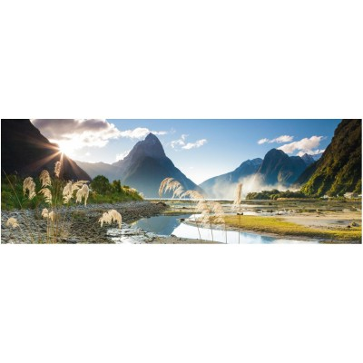 Puzzle  Heye-29606 Neuseeland, Sarah Sisson: Milford Sound