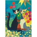 Puzzle  Heye-29616 Rosina Wachtmeister: Flowerbed