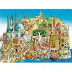 Puzzle  Heye-29634 Hugo Prades: Globale Stadt