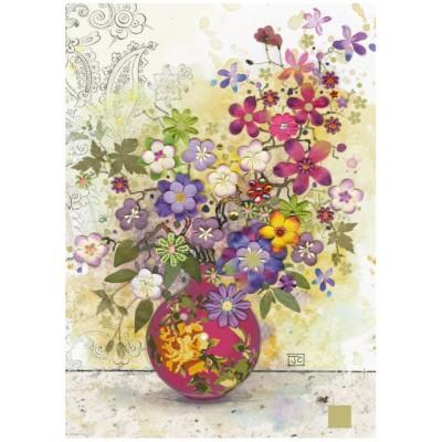 Puzzle  Heye-29664 Jane Crowther: Pink Vase