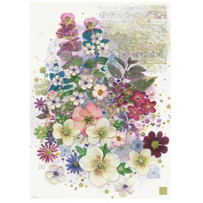 Puzzle  Heye-29665 Jane Crowther: Pink Creation