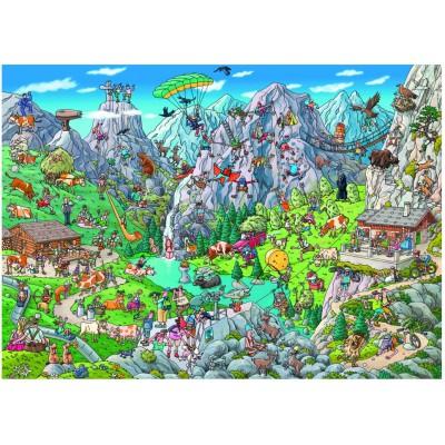 Puzzle  Heye-29680 Birgit Tanck: Alpine Fun