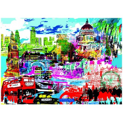Puzzle Heye-29682 Kitty McCall: I Love London!