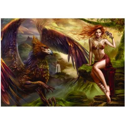 Puzzle  Heye-29726 Cris Ortega: Eagle Queen
