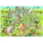 Puzzle  Heye-29727 Marino Degano: Jurassic Habitat