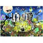 Puzzle  Heye-29751 Giuseppe Calligaro: Mystic Circle