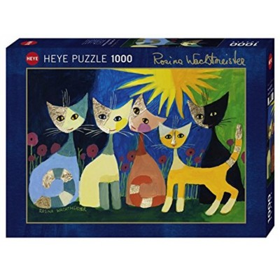 Puzzle  Heye-29772 Rosina Wachtmeister, Colourful Company