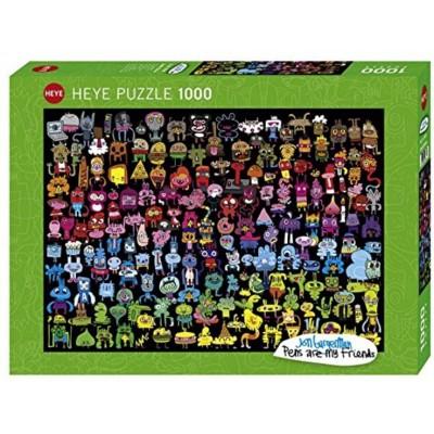 Puzzle  Heye-29786 Jon Burgerman - Doodle Rainbow