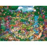 Puzzle  Heye-29792 Berman: Zauberhafter Wald