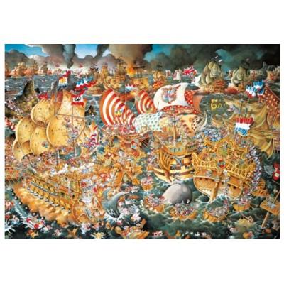 Puzzle  Heye-29795 Ryba: Trafalgar