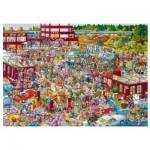 Puzzle  Heye-29796 Flohmarkt