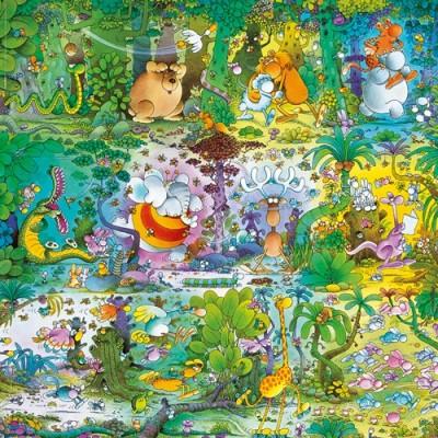 Puzzle  Heye-29799 Mordillo: Urwald