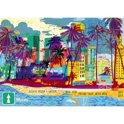 Puzzle  Heye-29802 I love Miami!