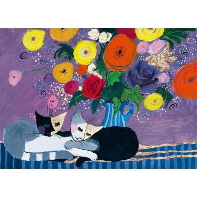 Puzzle Heye-29818 Wachtmeister Rosina - Sleep Well!