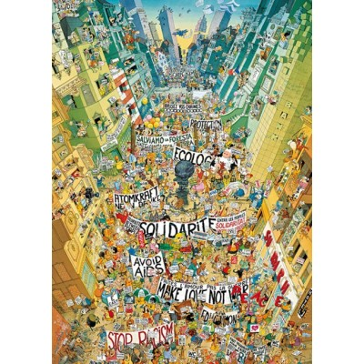 Puzzle Heye-29820 Degano - Protest