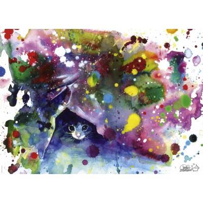 Puzzle  Heye-29825 Lora Zombie - Meow