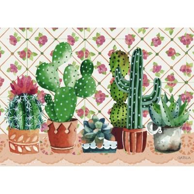 Puzzle  Heye-29831 Gabila, Lovely Times - Cactus Family