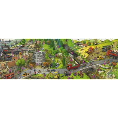 Puzzle Heye-29835 Loup - Busy Day