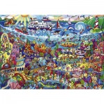 Puzzle  Heye-29839 Rita Berman - Magic Sea