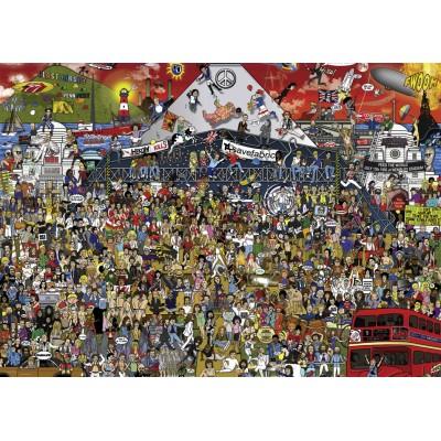 Puzzle Heye-29848 Alex Bennett - British Music History