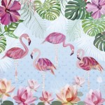 Puzzle  Heye-29852 Turnowsky - Flamingos & Lilies
