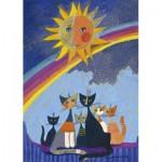 Puzzle  Heye-29854 Rosina Wachtmeister - Gold Rain
