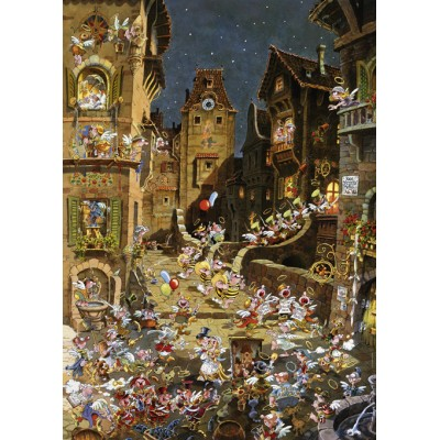 Puzzle  Heye-29875 Michael Ryba - By Night