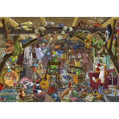 Puzzle  Heye-29885 Birgit Tanck - In The Attic