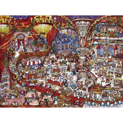 Puzzle  Heye-29889 Rita Berman - Patisserie