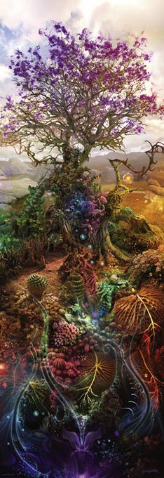 Puzzle Heye-29910 Andy Thomas - Magnesium Tree