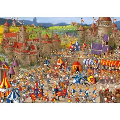 Puzzle Heye-29920 François Ruyer - Bunny Battles