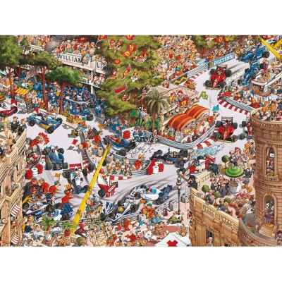 Puzzle  Heye-29923 Loup Jean-Jacques - Monaco Classics