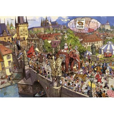 Puzzle Heye-29926 Street Parade