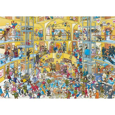 Puzzle  Heye-29927 Hotel Life
