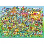 Puzzle  Heye-29936 Doodle Village