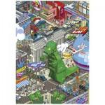 Puzzle  Heye-70168-29480 eBoy: Berlin
