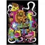 Puzzle  Heye-70168-29483 Jon Burgerman: Top Score