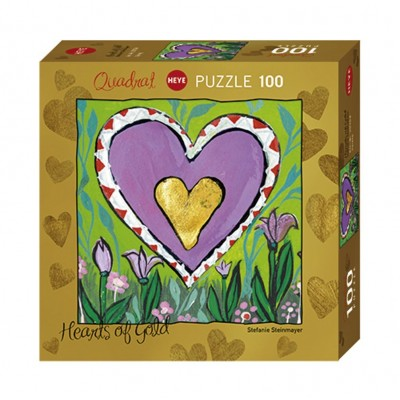 Puzzle  Heye-70858-29764 Stefanie Steinmayer - Hearts of Gold - Spring
