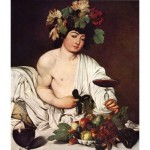 Puzzle  Impronte-Edizioni-043 Michelangelo Merisi da Caravaggio - Bacchus