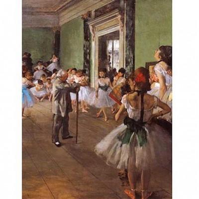 Puzzle  Impronte-Edizioni-046 Edgar Degas - Der Tanzunterricht