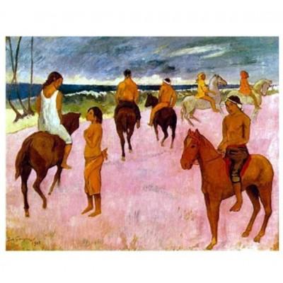 Puzzle  Impronte-Edizioni-049 Paul Gauguin - Riders on the Beach