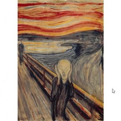 Puzzle  Impronte-Edizioni-136 Edvard Munch - Der Schrei