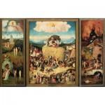 Puzzle  Impronte-Edizioni-147 Hieronymus Bosch - Der Heuwagen